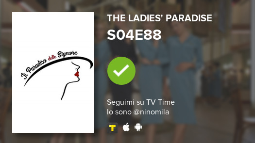 Ho appena guardato episodio S04E88 di The Ladies' Para...!  #tvtime