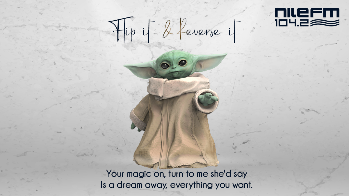 Can you guess what song #Yoda is singing?#FullyLoaded #FlipItAndReverseIt