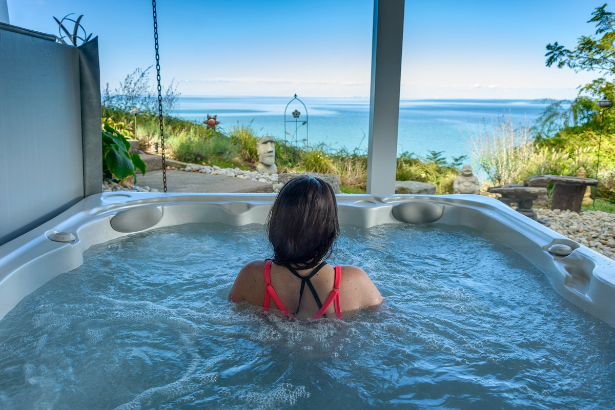 If you're considering a #HotTub for your #home, check out our top 5 reasons to use your hot tub this winter!