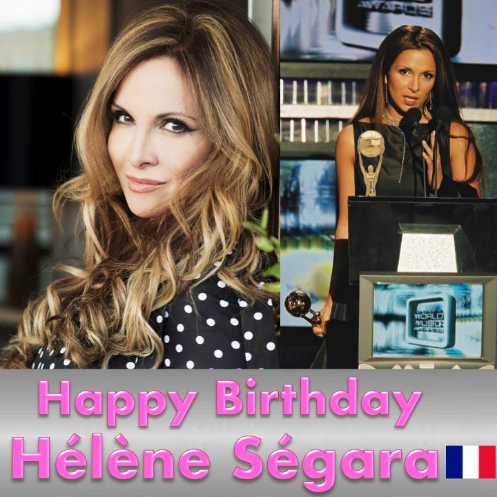 Happy Birthday to France's beautiful and very talented #HélèneSegara, World Music Awards Winner! 🎂🍾💐🎁🎉🎇🌟 @helenesegaraoff