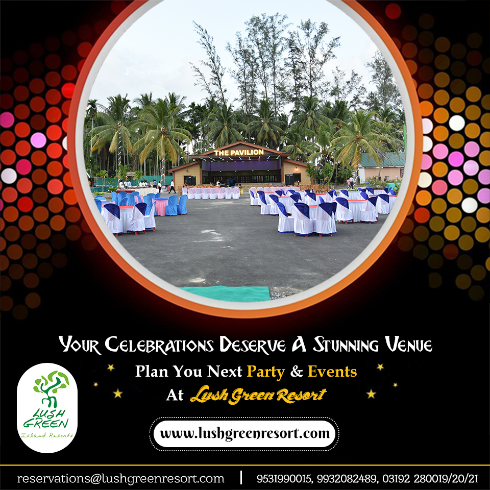 Looking for a place to host a party & events? Best Budget #resort near the  Near Marine National Park & Wandoor #Beach, #Port #Blair #Andaman provides world-class service for your party celebrations from children parties to #birthday #parties, #Kitty #Parties and #anniversaries.