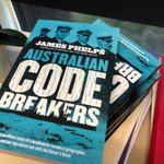WIN WIN WINA copy of Moley's mate @telejamesphelps new book AUSTRALIAN CODE BREAKERS.Just retweet to be a chance - winner chosen at random!