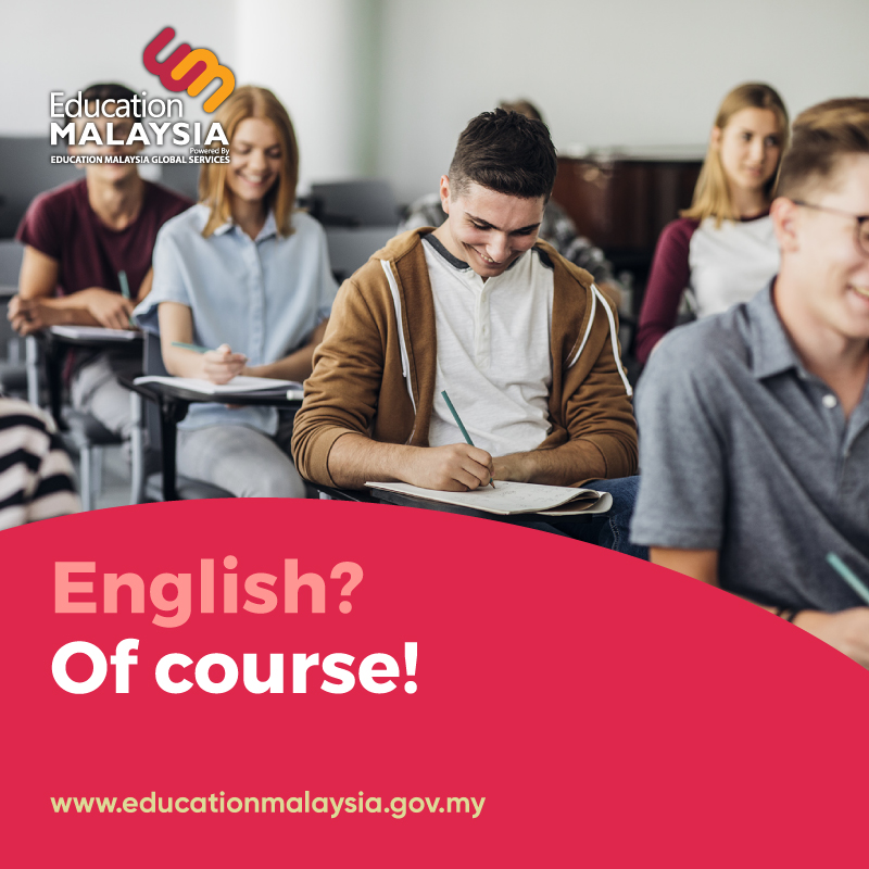 English? Of course!  Don't be surprised to hear English widely spoken in Malaysia. It's easy to communicate with locals, and you can practice your language skills!  #esl #englishlearning #internationalstudents #studyabroad #studyinmalaysia #qualityeducation #unilifepic.twitter.com/CCRKae5azF