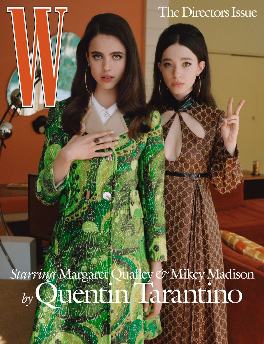 W MagazineのThe Directors Issue最高だね これはOnce Upon a Time…In Hollywood https://www.wmagazine.com/story/once-upon-a-time-in-hollywood-quentin-tarantino-dream-party/…pic.twitter.com/iqzu8nGeYt