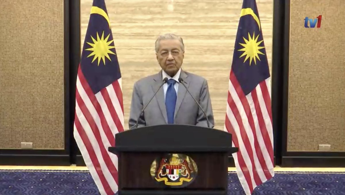 Thread by @bernamadotcom: [Live] Tun Dr Mahathir @chedetofficial announces  Economic Stimulus Package facebook.com/BernamaTV/vide… @chedetofficial  COVID-19 has greatly…