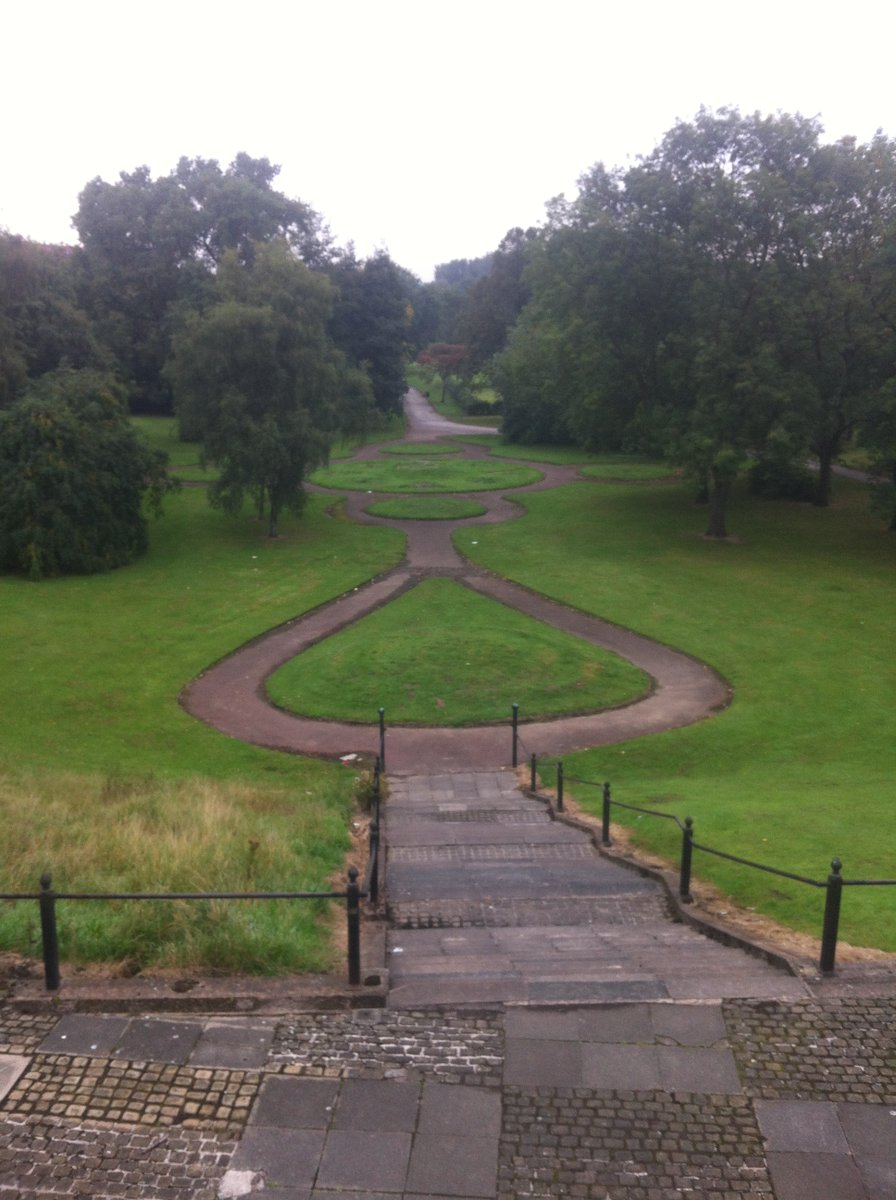 To see a great park restored to this state is one thing but what is amazing about this project is the people aspects. In over 125 projects we have worked on this is one of the best for training / skills @PeelParkSalford @HeritageFundNOR @DrewBennellick @apsetweets @talklandscape