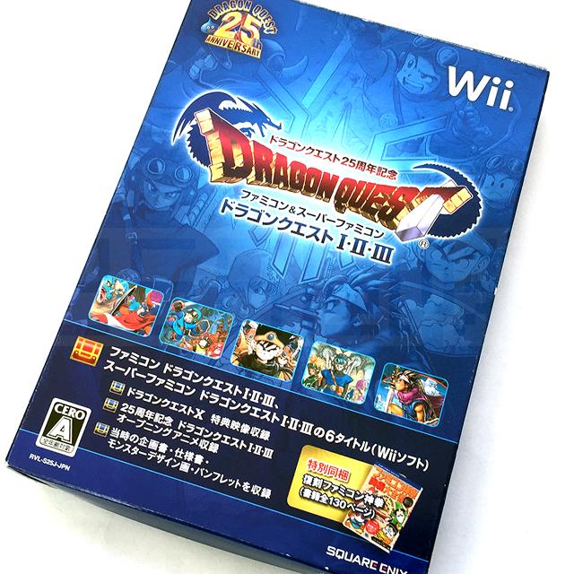 【Wii ドラゴンクエストI・II・III】ドラゴンクエストの25周年記念で発売されたWii版の「ドラゴンクエストI・II・III」です。ジャンプに掲載されていた「ファミコン神拳」の攻略本と小さなメダルも付いています。 #ドラゴンクエスト #レトロゲーム #ドラクエ