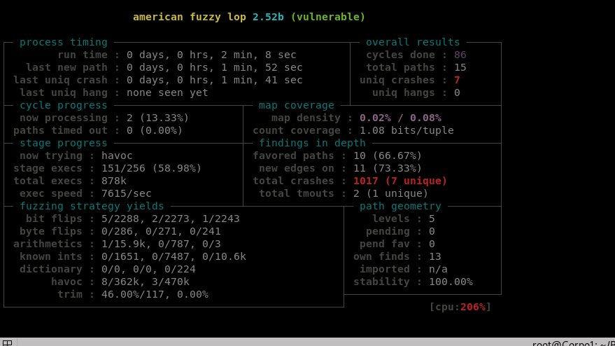 "Want to start to fuzz like a boss?--> Materials of the ""#Fuzzing with #AFL"" workshop - An excellent intro ! by @michael_macnair Material: https://github.com/mykter/afl-training …Slides: https://drive.google.com/file/d/1g78GgmMtxn_Aei2L1K6UzaCQmjaqiUNj/view?usp=sharing …"