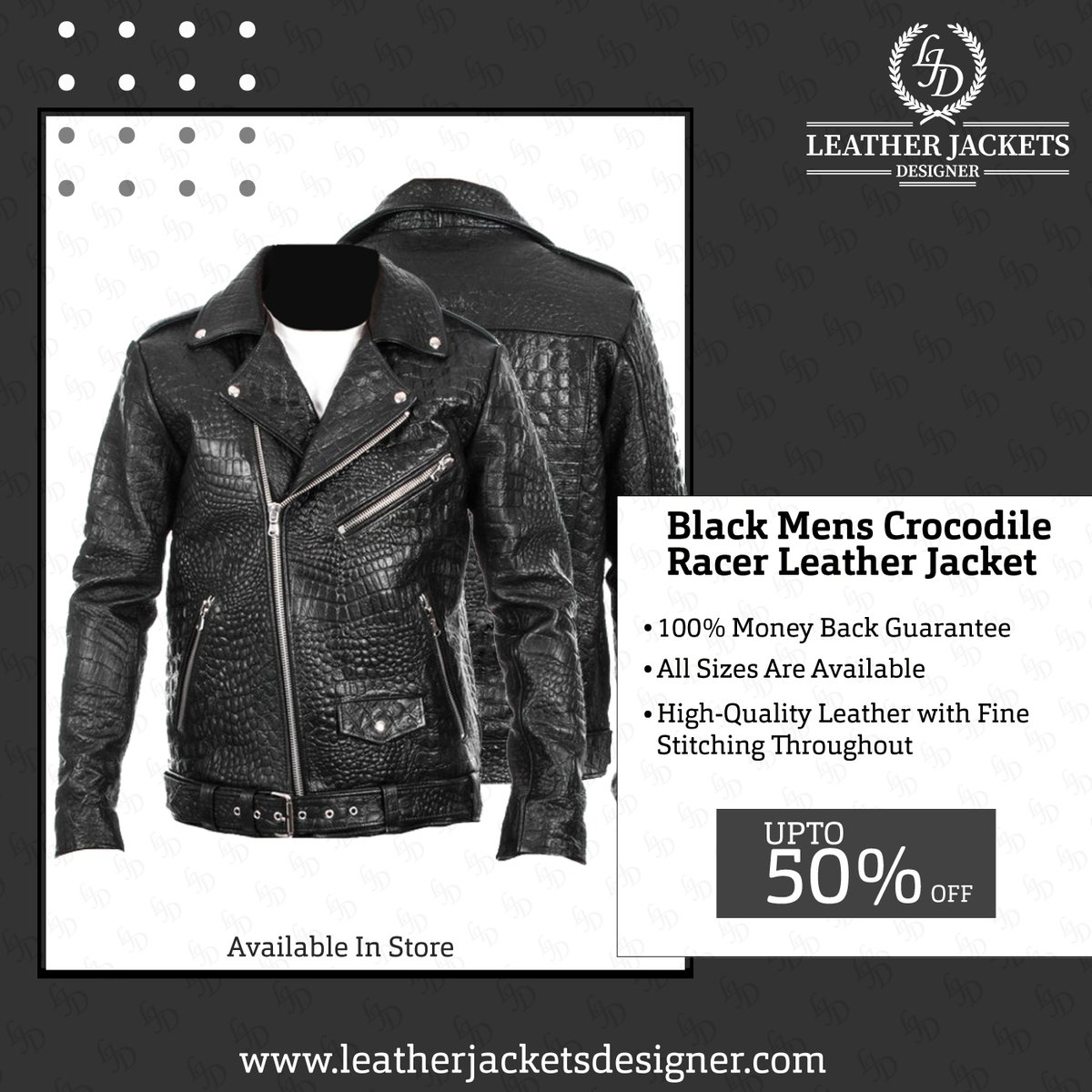 Black Moto Racer Leather Jacket   100% Money-Back Guarantee  All Sizes Are Available  High-Quality Leather with Fine Stitching Throughout  #leatherjackets #mensfashion #jacketsformen #mensjacket #fashion #style #trends #famousjackets #onlinestore #sale #LJDStorepic.twitter.com/mVaqySlvFX