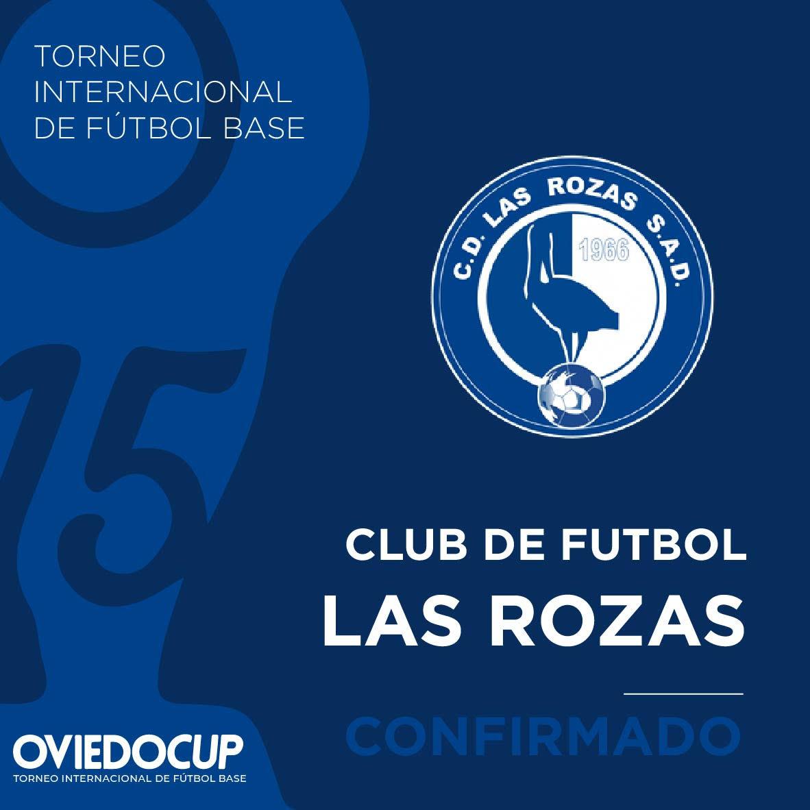   EQUIPO CONFIRMADO  ¡¡El club roceño estará presente en la #OviedoCup2020!! @LasRozas_CF  #TorneoInternacional #FútboBase #OviedoCup #XVEdición #SemanaSantapic.twitter.com/lcTO8PvC8a