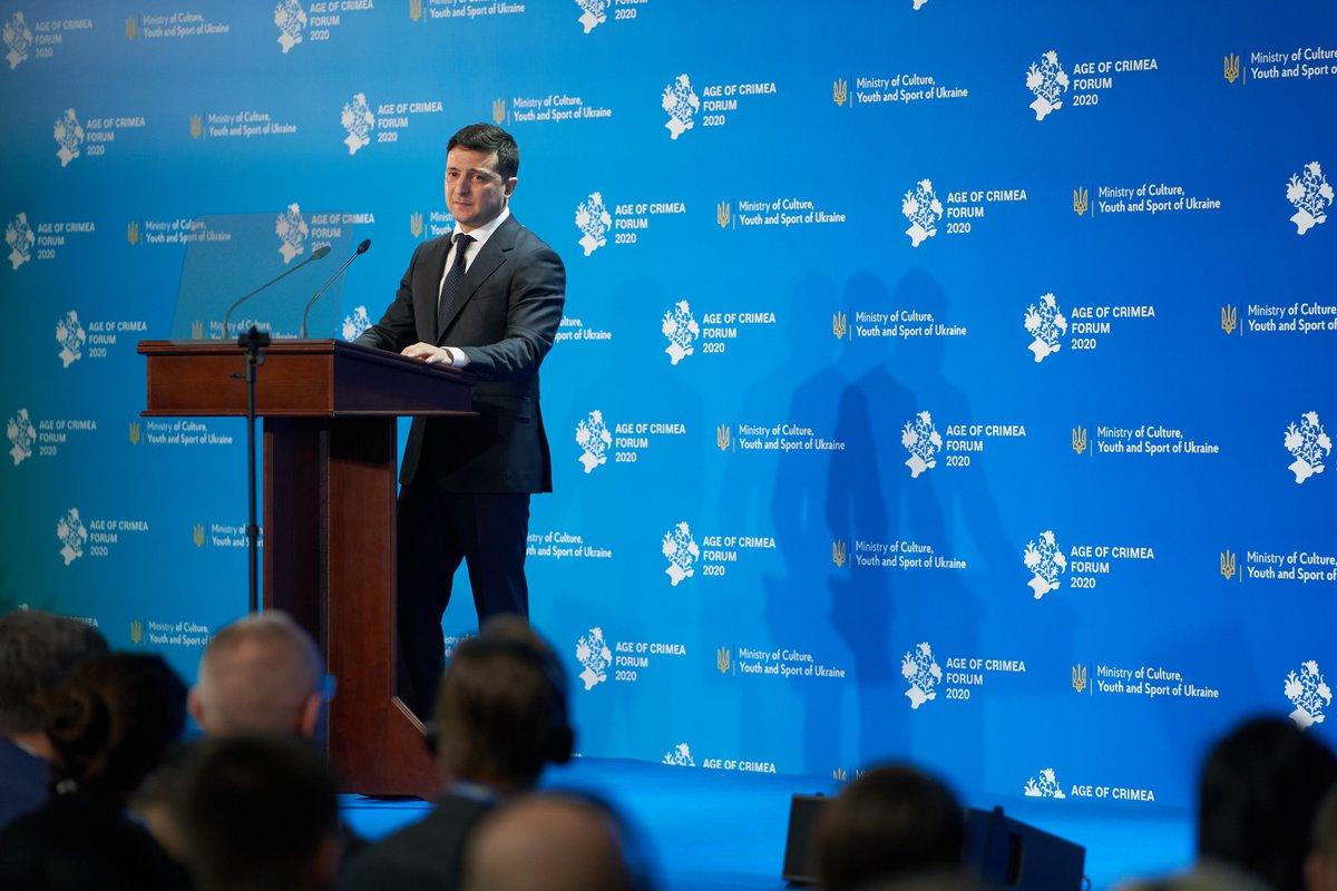 Повернення Криму до України – це не просто моя мета як Президента чи позиція як громадянина. Це не тільки наша спільна мрія. Це – запорука безпеки на планеті. Це відновлення віри. Віри в міжнародне право та справедливість.