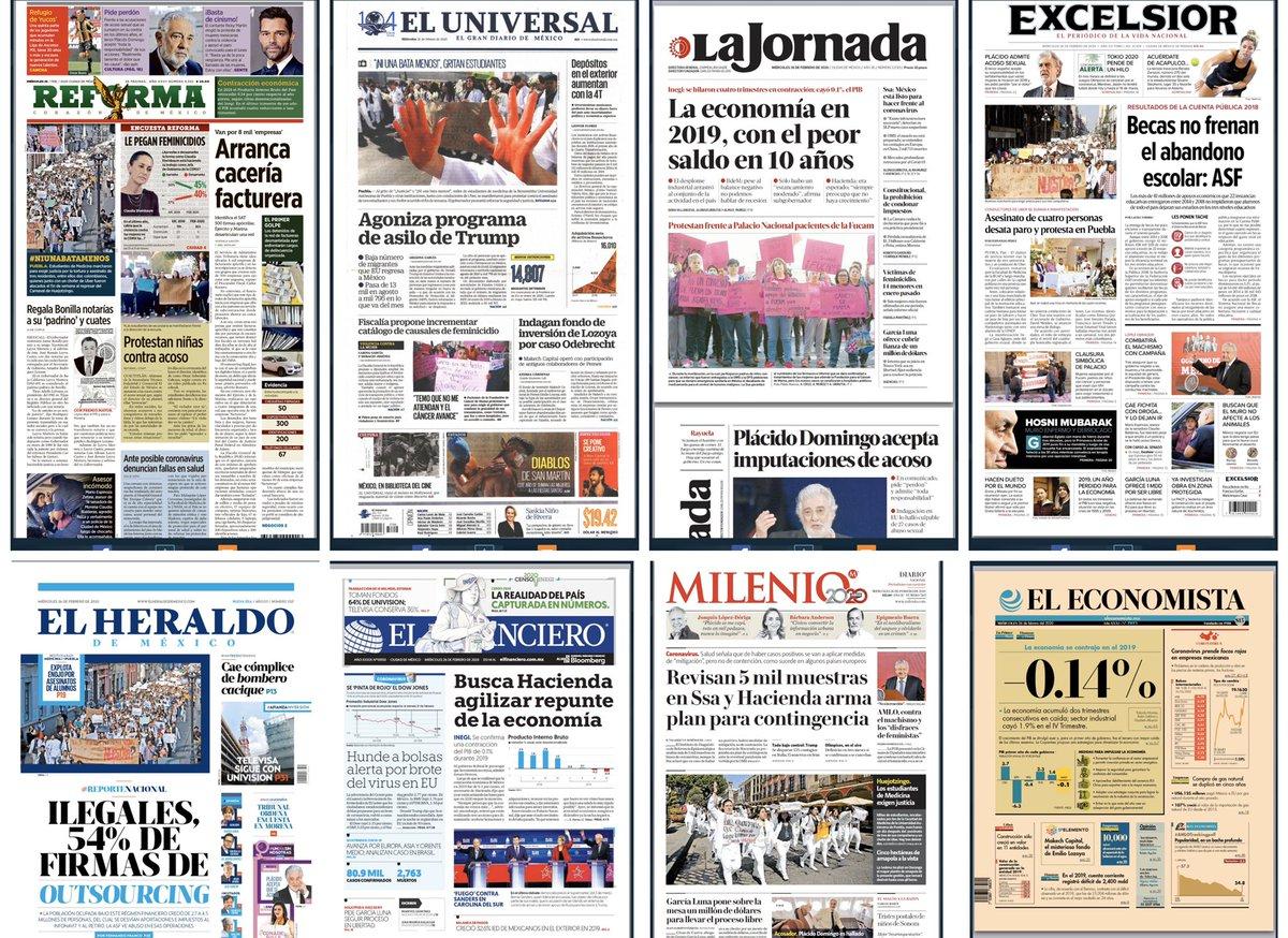 Los periódicos de México ⬇️