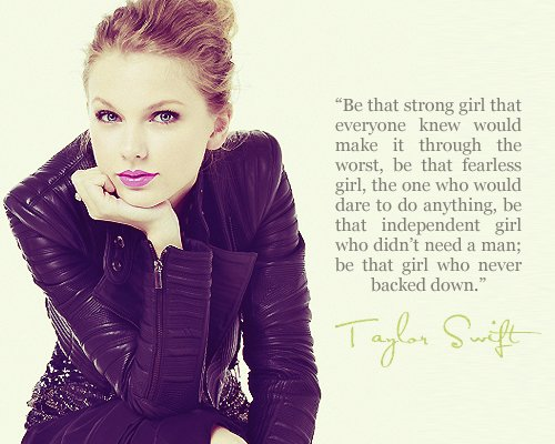 Be that girl who never backed down.- Taylor Swift  taylorswift13 #quote pic.twitter.com/5NOxm4NTxK music http://goo.gl/9t0dFS  https://jpad1920.gopages.co/coaching/week pic.twitter.com/OeQLFip6oZ