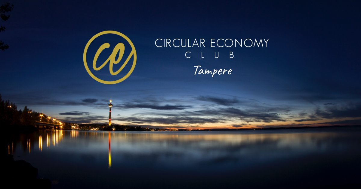We're opening @CircularEClub in #Tampere - open community to everyone interested in the transition to #circulareconomy. Looking for possibilities to #collaborate, since we strongly believe it's the key to circular economy. Stay tuned for more & welcome to our events! #cectamperepic.twitter.com/Mfc52W5LyJ
