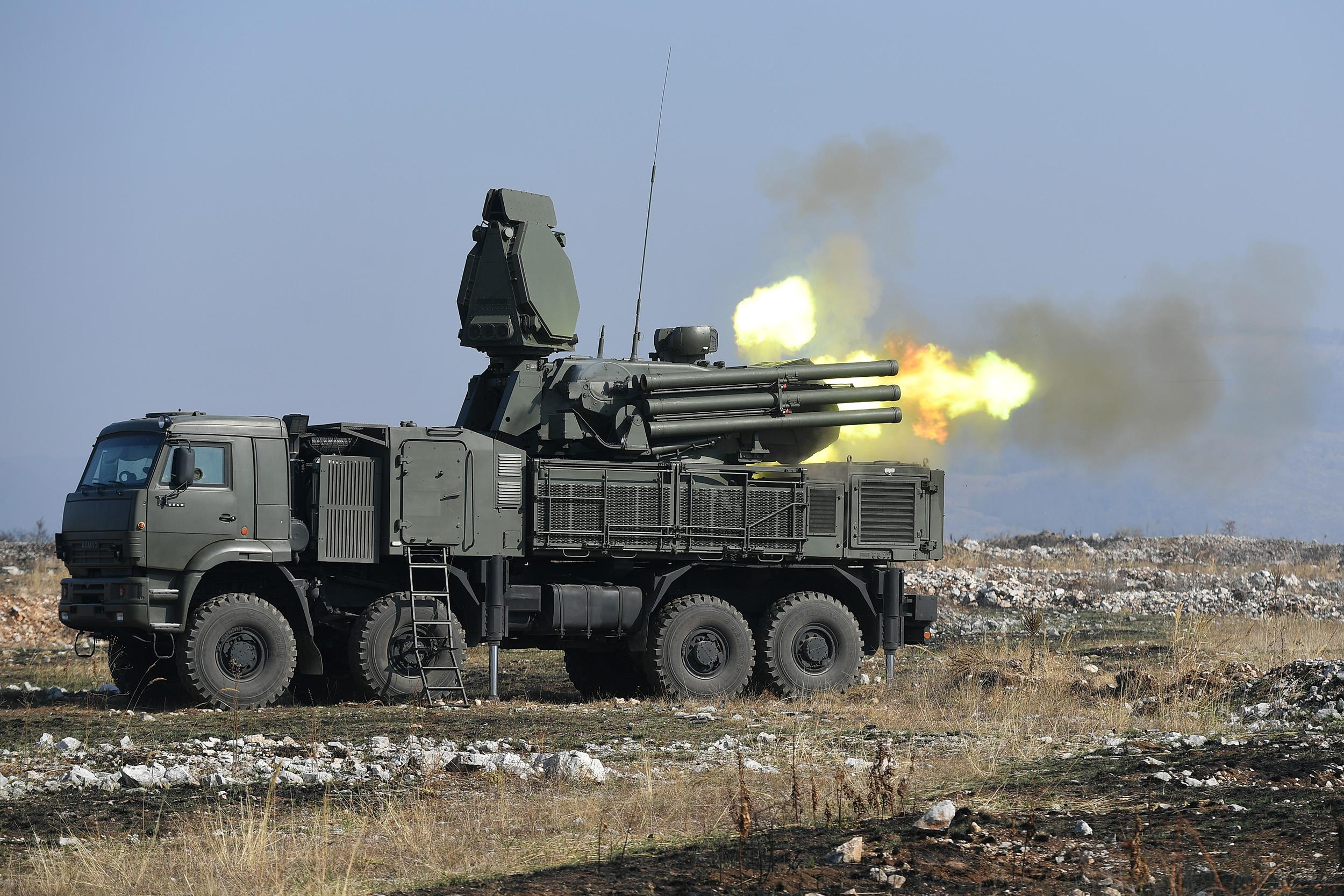 Pantsir-missile