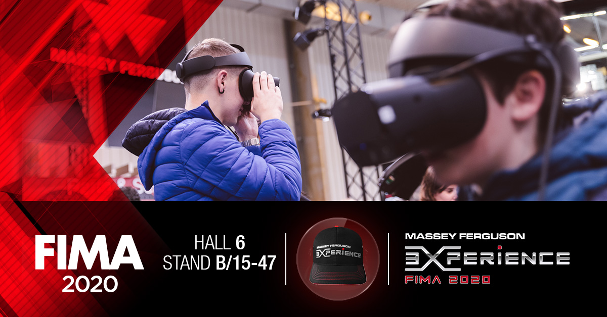 Discover the entire #MasseyFerguson range using virtual reality at #FIMA2020! 👀 https://t.co/EVBhM2mUTe