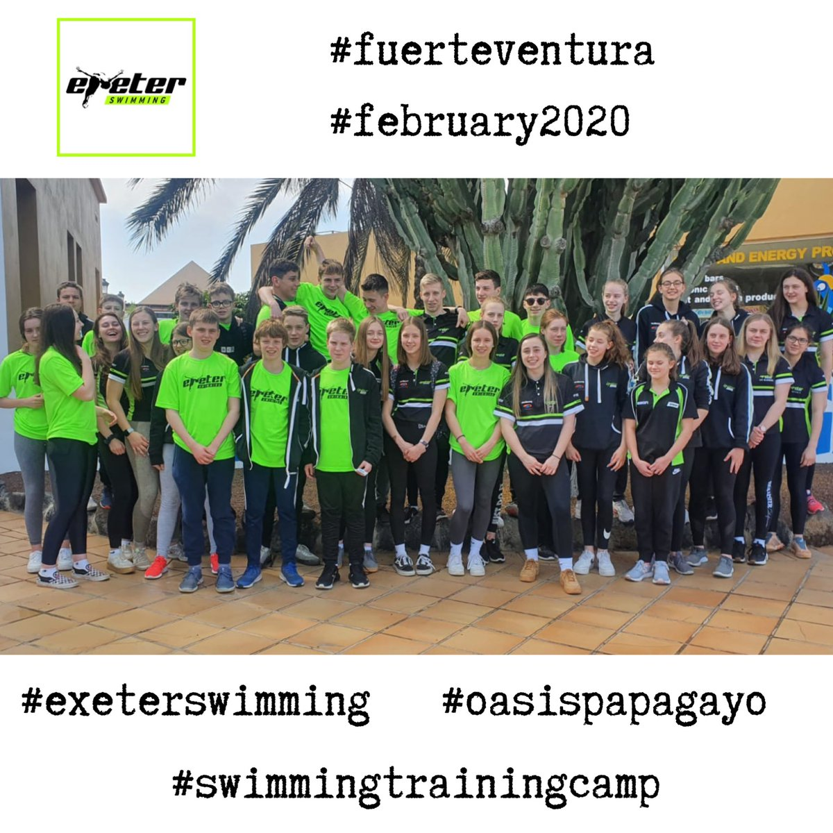 Thank you @exeterswimming for sending us photos of your February swim camp. It looks like you all had a fabulous time! Here is a selection of them! #swimmingtrainingcamps #sportsabroad #exeterswimming #fuerteventura #oasispapagayo #workhard #havefun #makingmemoriesforlifepic.twitter.com/W1SRNIFB3B