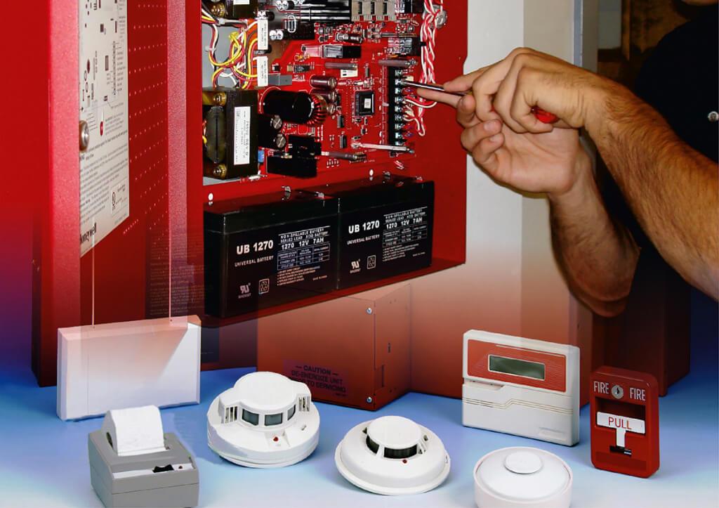 Обеспечение безопасности объекта: пожарная сигнализация