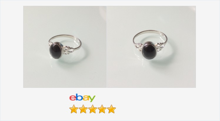 New 925 Sterling Silver and 8x6 Black Onyx Ladies Small Celtic Ring sizes J-R | eBay #sterlingsilver #celtic #black #onyx #ring #handmade #jewellery #gift #giftideas #giftsforher #giftshop #jewelry #accessories #pretty #cute #jewelrylover #jewelryaddict