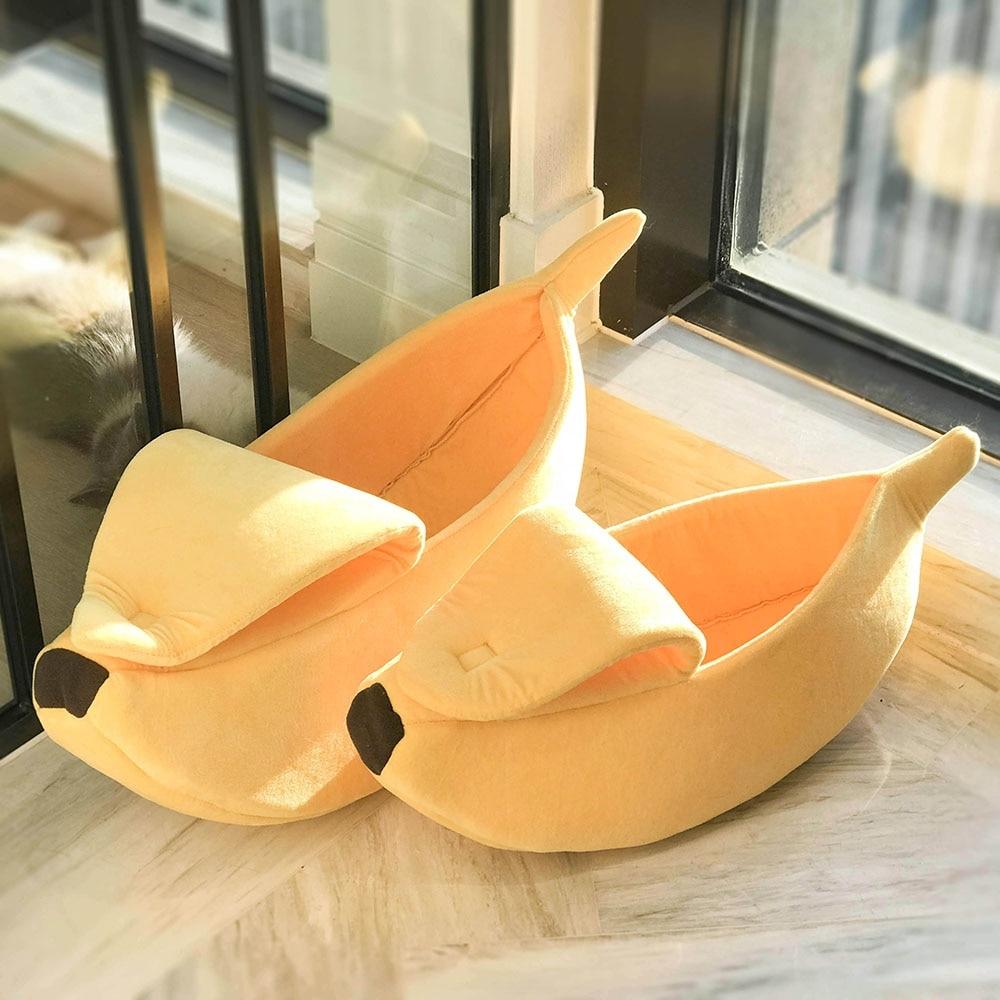 #beautiful #pretty Banana Shaped Pet's Warm House
