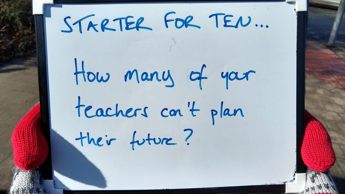 Replying to @ucuatdurham: How many of your teachers can't plan for the future? #UCUStrikesBack #Durham #FourFights
