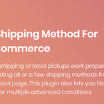 Image for the Tweet beginning: Hide Shipping Method For WooCommerce