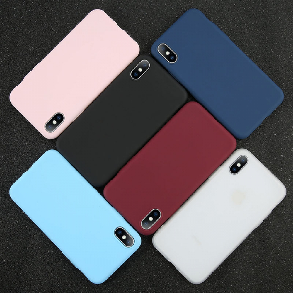 #iphone #iphoneonly #iphonesia #iphoneography Candy Colors Soft Phone Case for iPhone