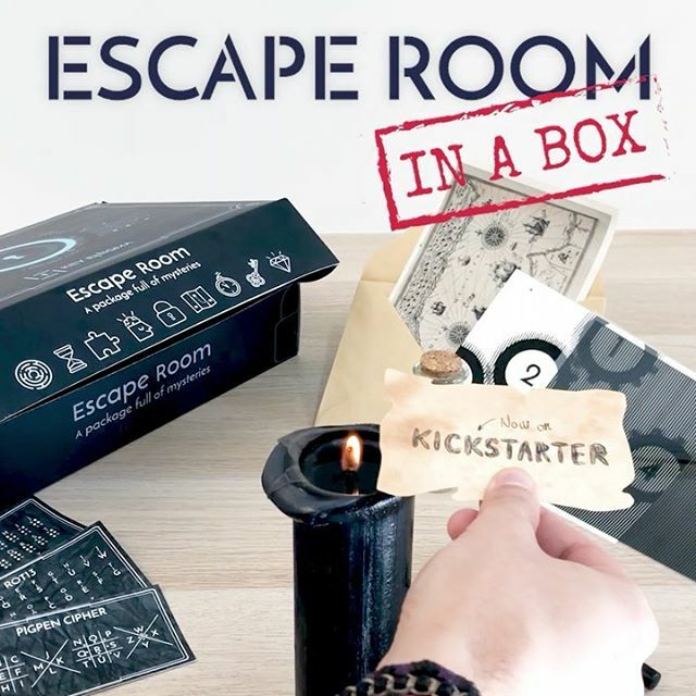 Did you get your Box? 📦 Available now on Kickstarter (🔗link in bio) #escapebox #escapegame #puzzle #enigma #mystery #brainteasers