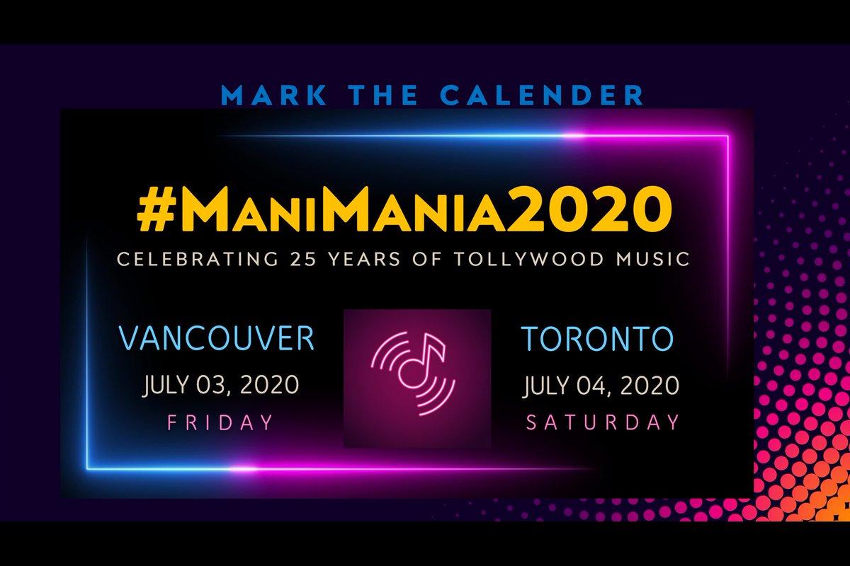 #ManiMania2020 #teluguconcert #teluguSingers pic.twitter.com/q5nihG1Fq8