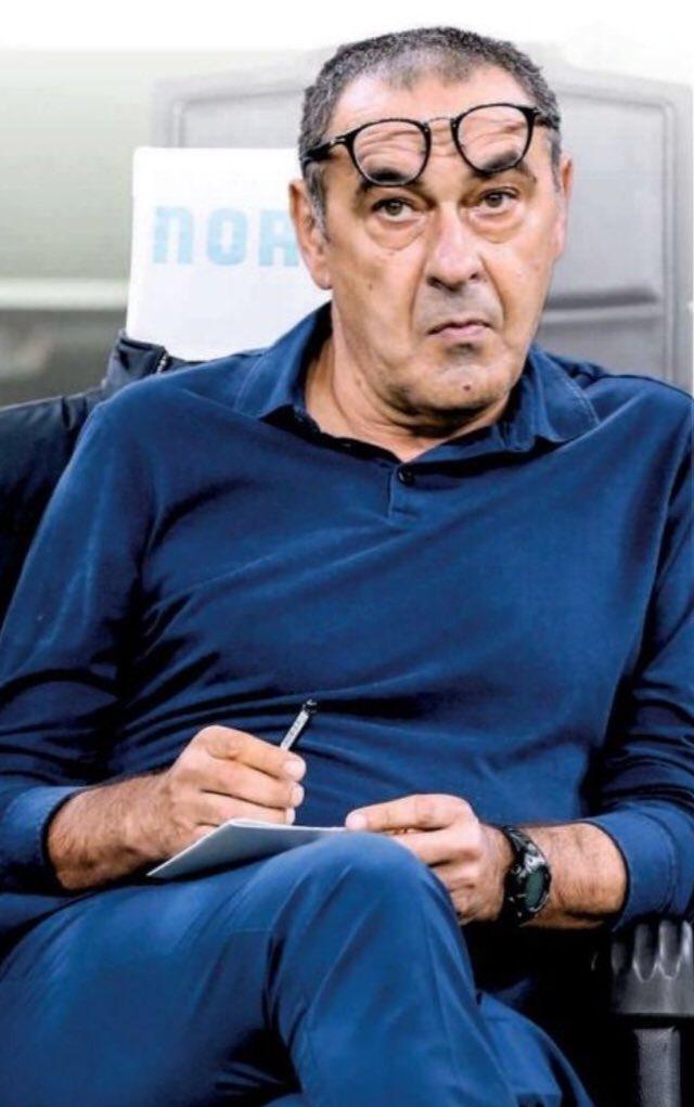 #Football «Sur les 70 premiers mètres je veux voir mon organisation. Sur les 30 derniers, les inspirations des joueurs». #Sarri #OLJUV