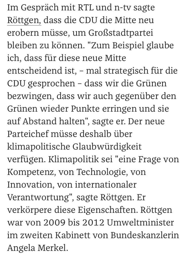 Kurzer Reminder: Klimaexperte #Röttgen hat zu seiner Zeit als Umweltminister auch die Photovoltaik in Deutschland komplett eingestampft, was bis heute Schaden nach sich zieht. Aber wen interessieren denn noch Fakten in der Debatte um den #CDUVorsitzpic.twitter.com/XuUl2ggLAF