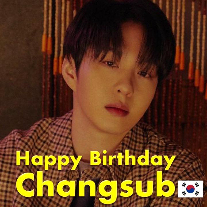 Happy Birthday to #BTOB #비투비's very talented #Changsub! #HappyChangsubDay! 🎹🍾🎂🎁🎉🎇🌟 @OFFICIALBTOB