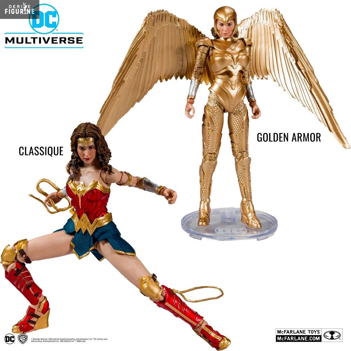 Nouvelles figurines classes et à bas prix en précommande pour le DC Comics Multiverse de McFarlane Toys    Il s'agit de Wonder Woman 1984 en version Classique ou Golden Armor https://bit.ly/2Tja20Opic.twitter.com/Op36rljsHC