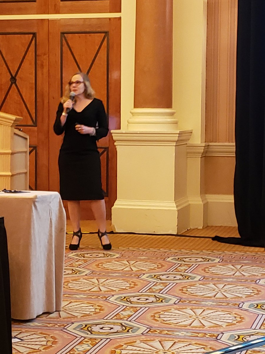 Dr. Sally Spencer and her compassionate session on suicide prevention.