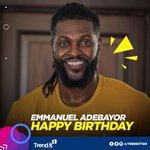 Image for the Tweet beginning: Happy Birthday @e_adebayor   #Trenditgh #Adebayor