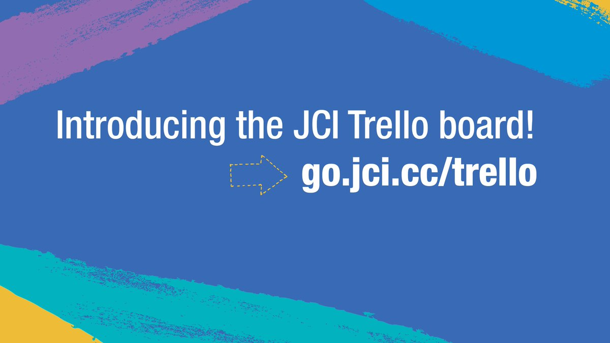#RT @jcileaders: Learn all about our new @trello board made just for members like you to share the JCI message! Watch this week's episode of JCI LIVE http://bit.ly/jcitrello
