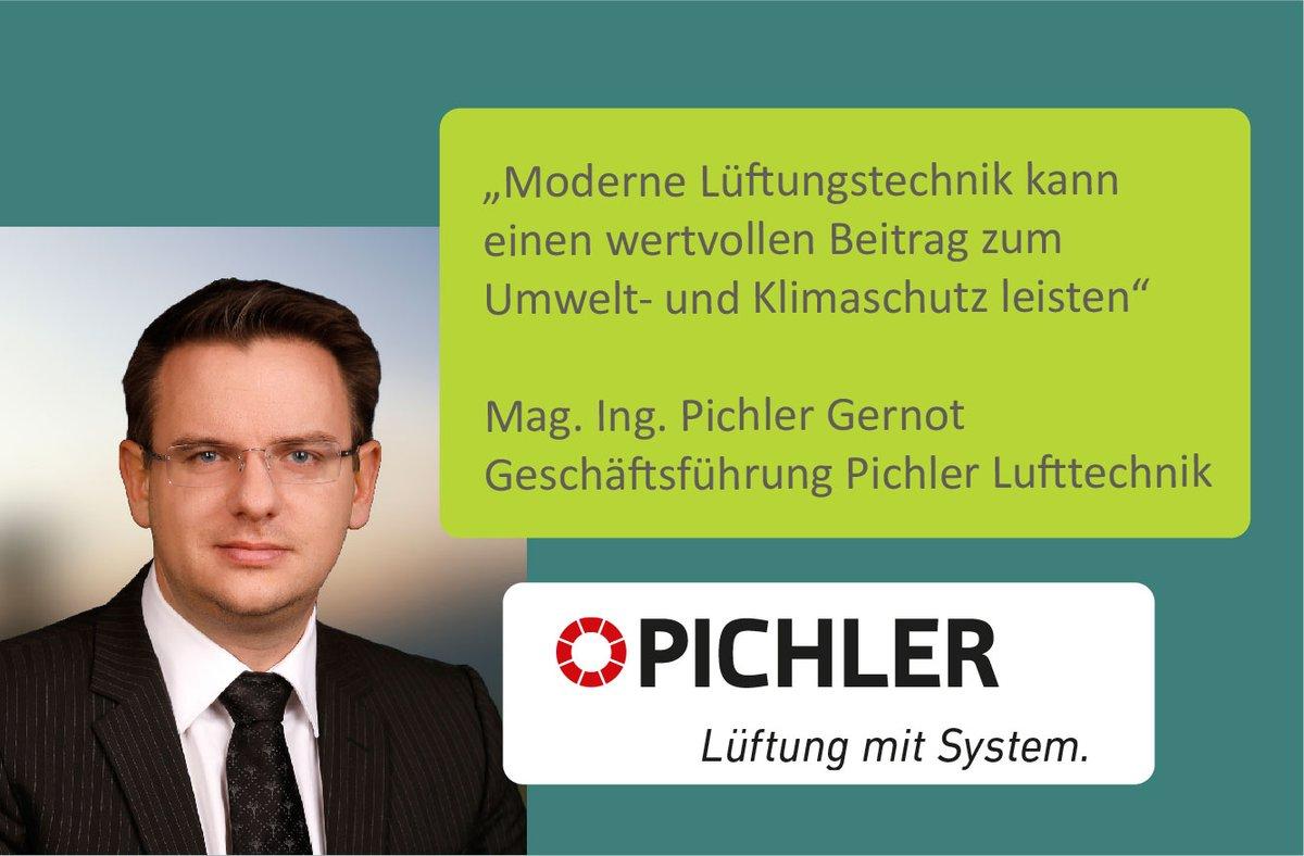 """""""Moderne #Lüftungstechnik kann einen wertvollen Beitrag zum Umwelt- und #Klimaschutz leisten"""". Daher unterstützt Mag. Ing. Pichler Gernot, Geschäftsführer von #Pichler Lufttechnik, den #passathon.pic.twitter.com/sVW5eYU6rU"""