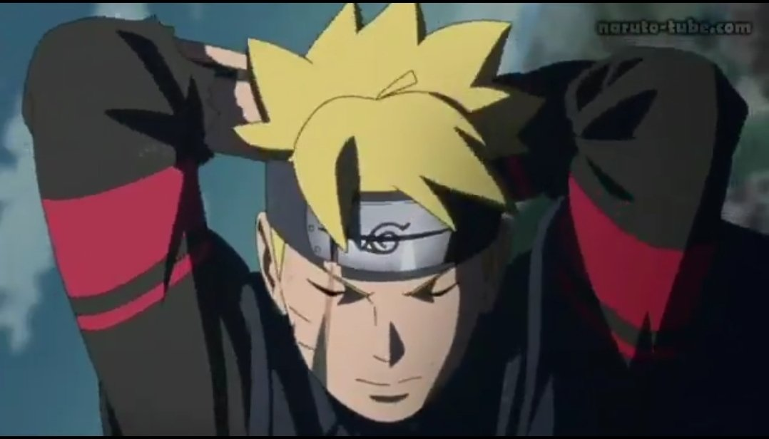 Narugod1 On Twitter Im Sure That Boruto Was A Nukenin Ninja Before This Fight We Can Clearly See That He Had A Fight Before This Fight He Had This Headband On The