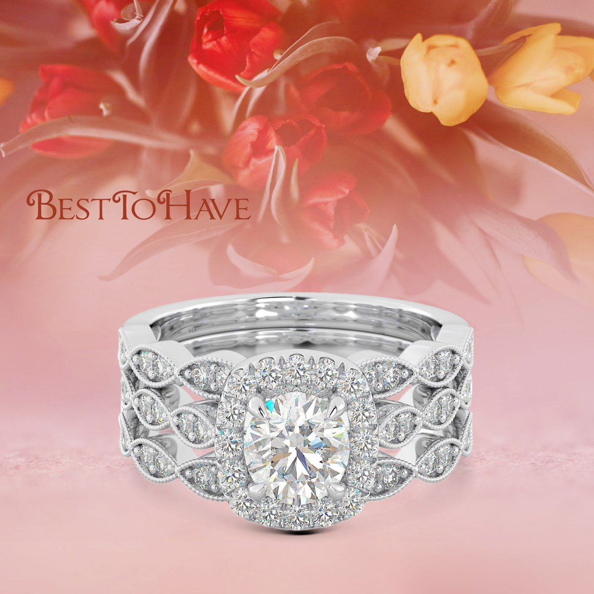 Our amazing 'Belle Amour Bridal Three Rings Set' For only £39.99 Product code: 382 Shop more:  #womenrings #weddingrings #lovejewelry #silverjewelry #sterlingsilver #cubiczirconia #besttohave #besttohavejewelry #silverring #zirconia #silver925 #engagement