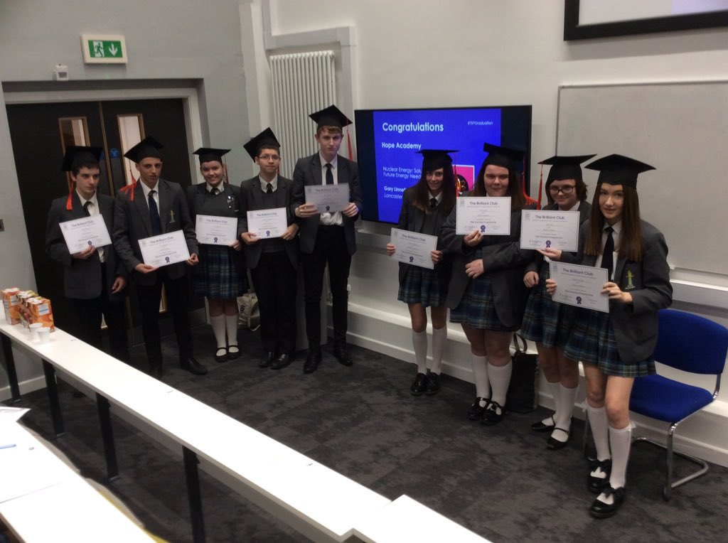 test Twitter Media - Proud Year 10 Scholars receiving their awards today at Liverpool University @BrilliantClub @LivUni @Hope_Academy #ambition #OIAWD https://t.co/FX7Ruwt2bs