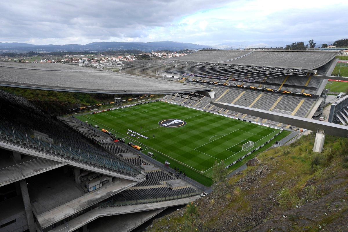 🏟️ Estádio Municipal de Braga#UEL 🔜