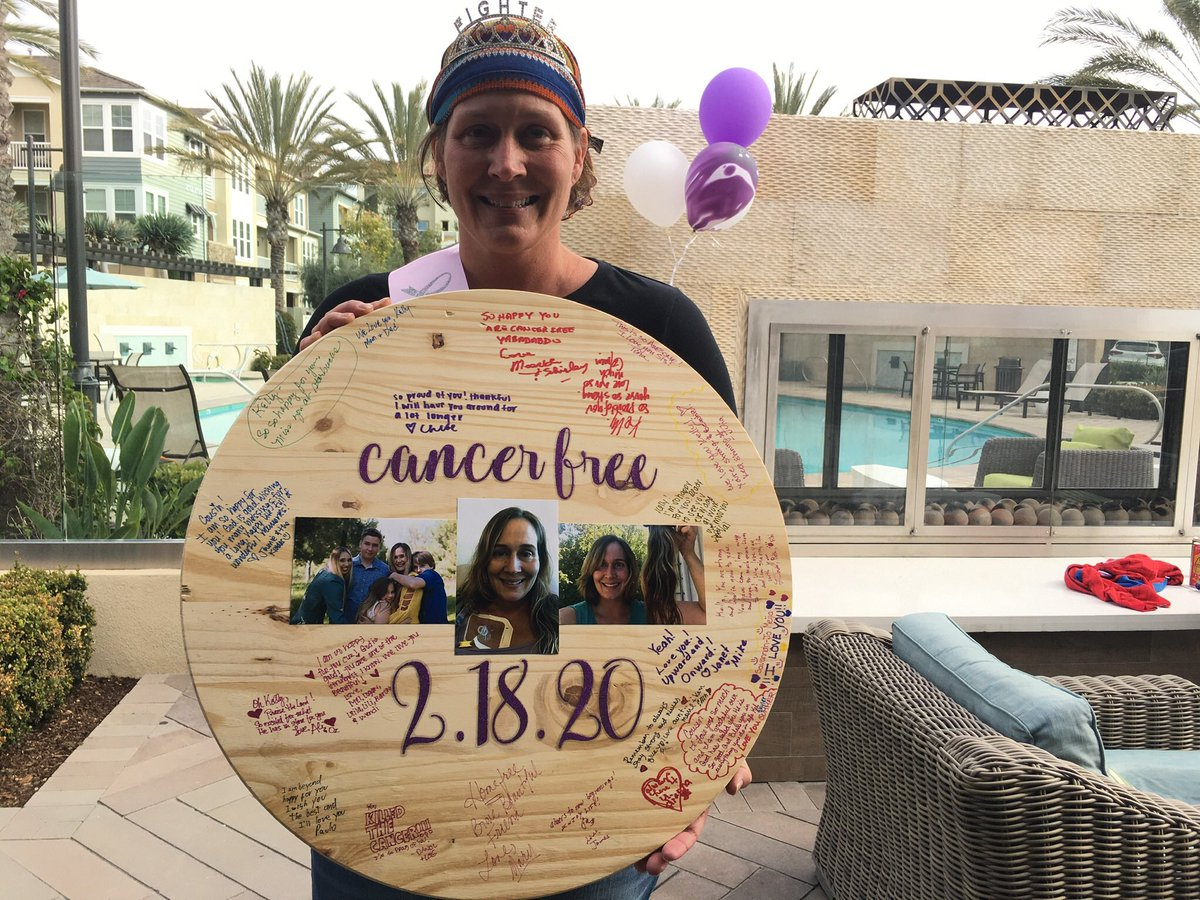 I am so excited and happy to celebrate this beautiful lady who is now #cancerfree and cleared to start working out again. Her goal is to complete @spartan race.Let her know she can & will do this! #SpartanBA2020 #SpartanSGXcoach #strengthisbeauty #spartanwomenstrong #spartanwomenpic.twitter.com/erzV1bINqy