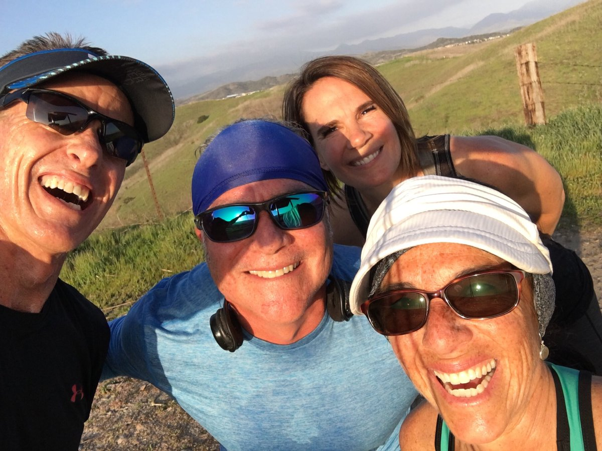 This is the 50+ run club lol. Hbitting it hard & prepping to race on a beautiful Sunday afternoon. Join us next week for a Saturday morning Dreaded Hill Run and Sunday afternoon Ladera Ranch Hill run. @spartan #SpartanBA2020 #SpartanSGXcoach #strengthisbeauty #spartanwomenpic.twitter.com/64PB81JneR