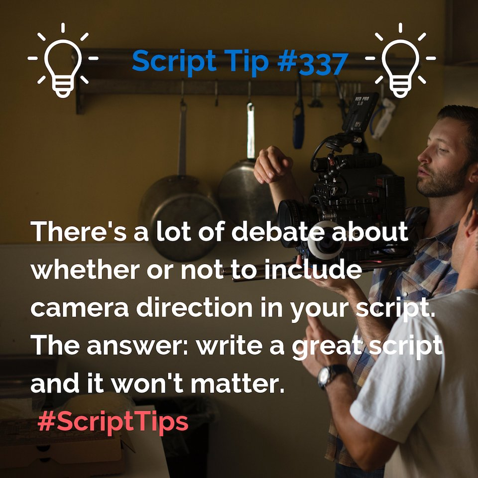 There's no right way. Just write.  For more #ScriptTips, check out  . . . #ScriptTip #screenwriting #scriptchat #writing #amwriting #screenplay #motivation #inspiration #filmmaker #filmmakers #filmmaking #tv #movie #movies #writer #writers #repost