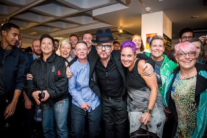 Trade nightclub exhibition launch at Islington Museum 2015. #IslingtonsPride #LGBTHM20