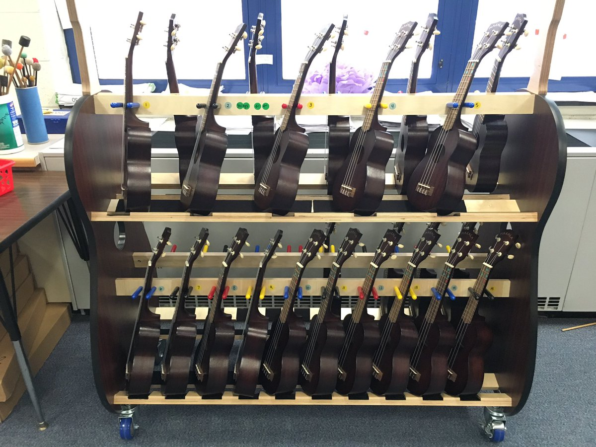 Thank you so much Ivy Hill PTA for this beautiful ukulele cart! The ukuleles love their new home! #IvyHillLeague<br>http://pic.twitter.com/qOW0f7eRsI