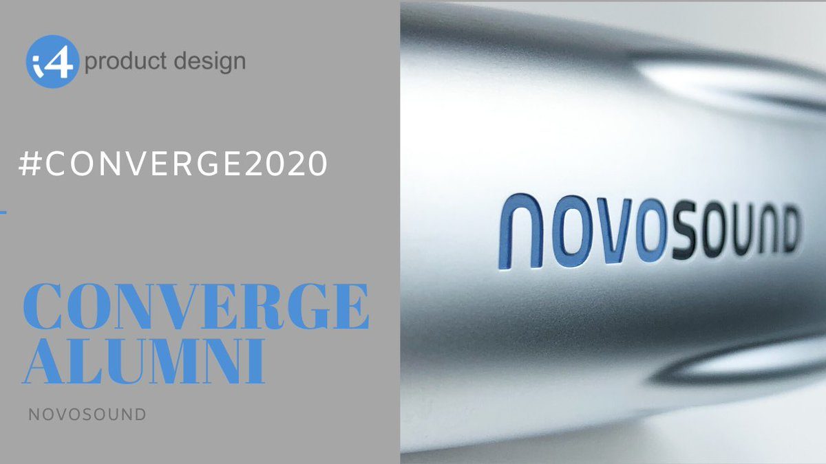 Novosound approached our #industrialdesign and #engineering team to design a protected enclosure to house the probe's #electronics. They later showcased an appearance model at a trade show in the 🇺🇸. #Converge2020 #kickstart2020 @ConvergeC