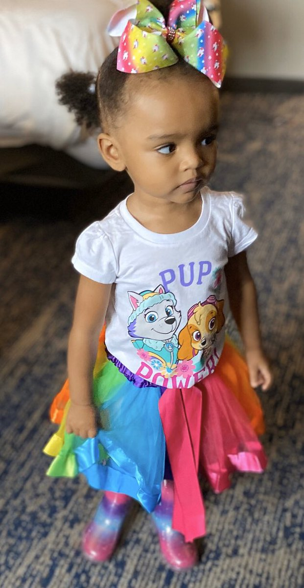 """Can't believe you're going to be 2 in a few days.......#pawpatrollive  I think I'm more excited than you..... as you would say """"Let's Do It""""!!! #AmariRenee #mybrokebestfriend #mommylovesyou pic.twitter.com/e3jP2IWd0j"""