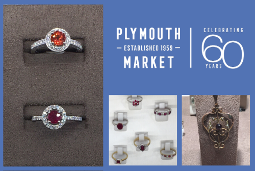 Diamonds are a girl's best friend - we think any gems are pretty good to know 💎.If you're looking for an #engagement ring or piece of #jewellery, we've some stunning pieces. Come in & take a look at our expert retailers' beautiful displays #diamonds #PlymouthMarket #WeddingRings