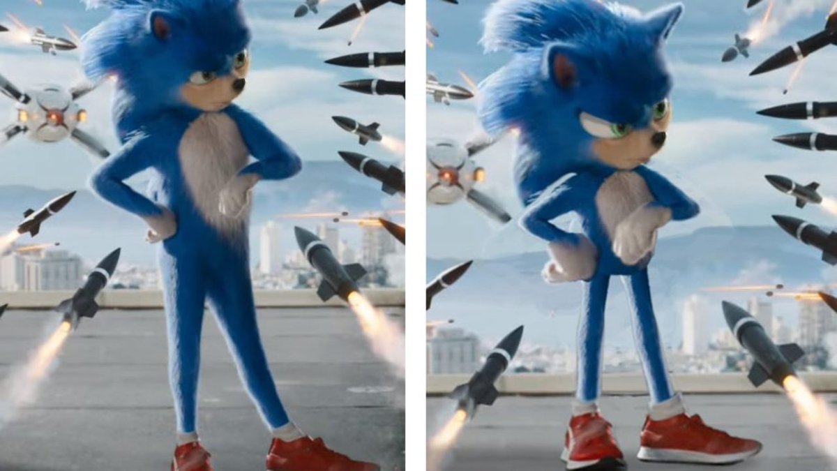 Nice film. Very glad they got rid of #UglySonic for the final cut. #SonicMovie pic.twitter.com/Cs9dN1y8nB